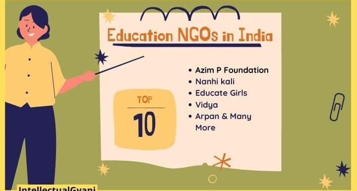 top 10 education ngos in India