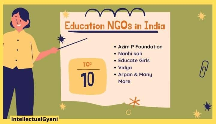top 10 education ngo in India