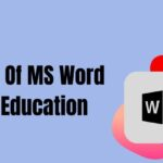 uses of ms word in education