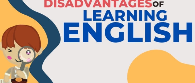 Advantages and disadvantages of learning english